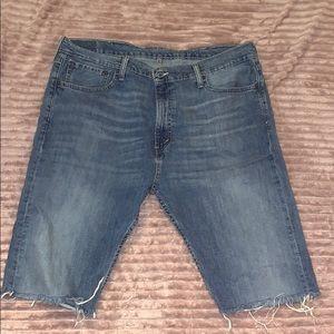 Levi's Jeans cut into Shorts